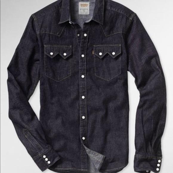 ed4ed0daf1e Brand New - Levi s Denim Shirt Western Slim Shirt